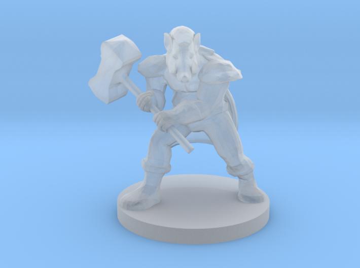 Wereboar 3d printed