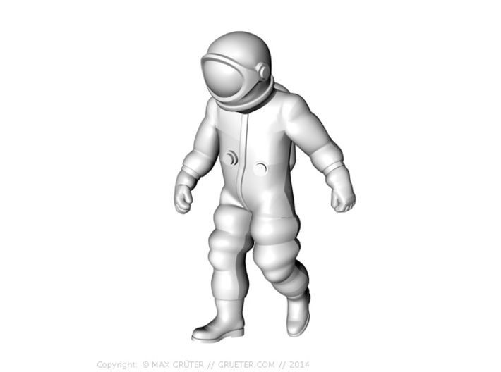 Generic Astronauts Set / 1:72 3d printed Walk position