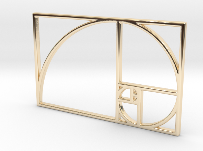 Golden Ratio 3d printed