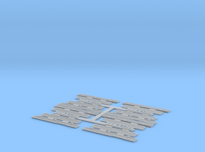 1:35 T-34 Grills Early Economy pack for Dragon 3d printed