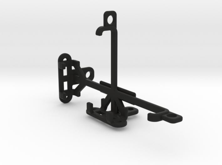 HTC Zeta tripod & stabilizer mount 3d printed
