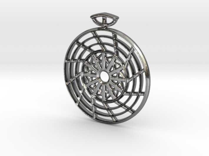 The Fan Pendant 3d printed