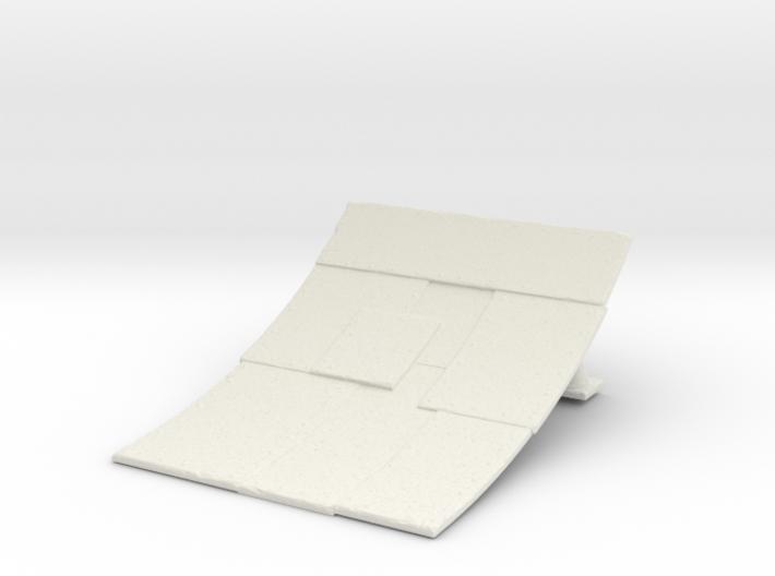 Ramp for Gaslands 3d printed