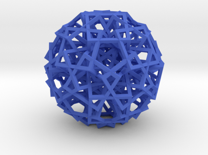 Cube Explosion 3d printed