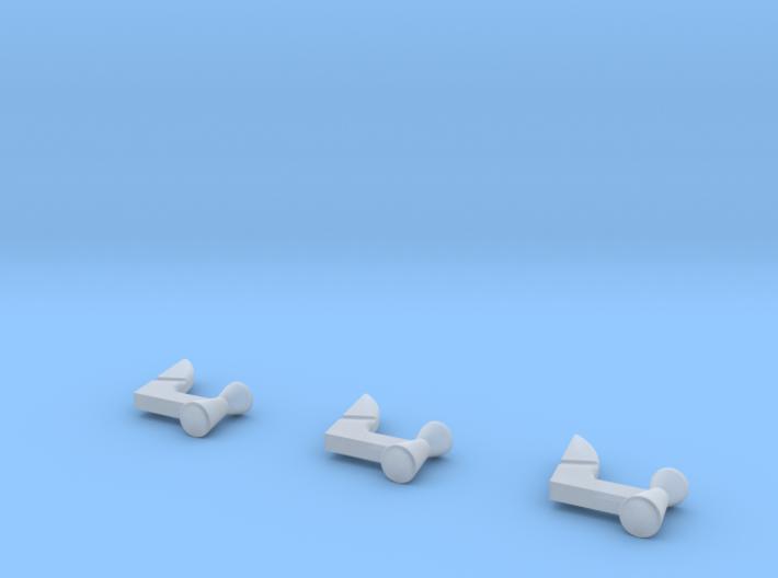 Atlas Vernier Jets X 3 3d printed