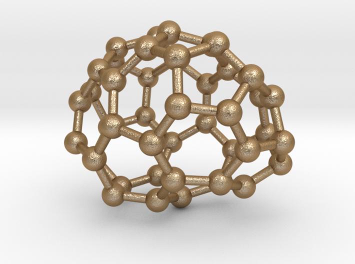 0642 Fullerene c44-14 c1 3d printed