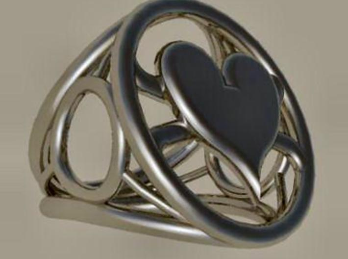 Size 24 5 mm LFC Hearts 3d printed