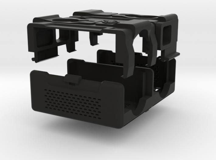 RunCam2 PEQ Style Dual Camera Mount 3d printed