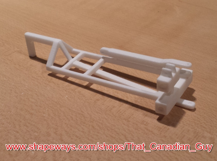 1/64 (S) Scale 3000gal NH3 Tank Cart Kit 3d printed