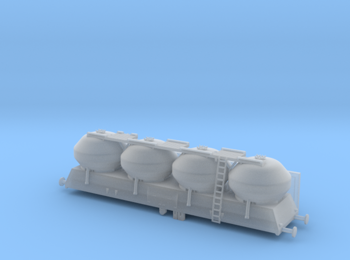Wagon PKP UACS 408s zscale ver. FM 3d printed