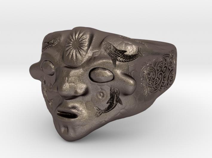 Tribal mask 3d printed