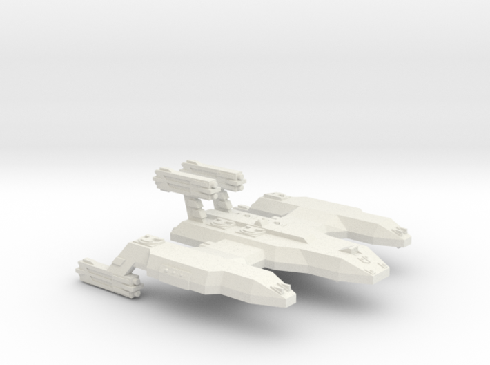 3788 Scale Lyran Unrefitted Cave Lion Battleship 3d printed