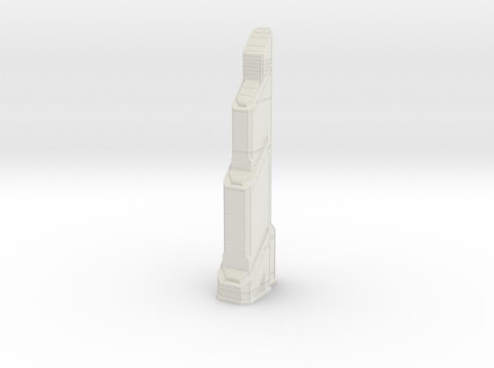 Mercury City Tower (1:2000) 3d printed