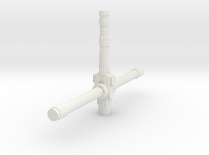 Derelict-Beacon Laser Turret 3d printed