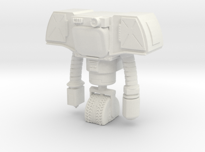 Securitron with Blank Screen Face 3d printed