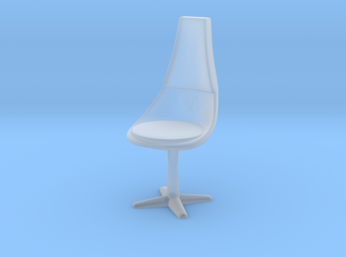 Crew Chair, 1:87 Scale 3d printed