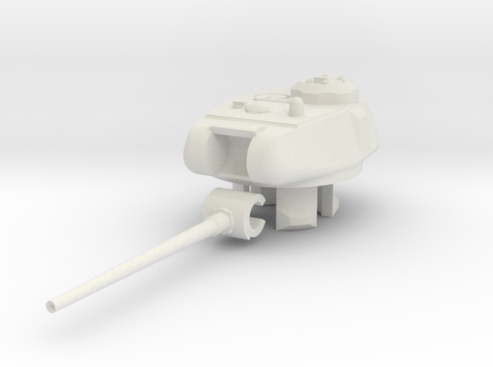1/100 KV/IS-85 Turret 3d printed