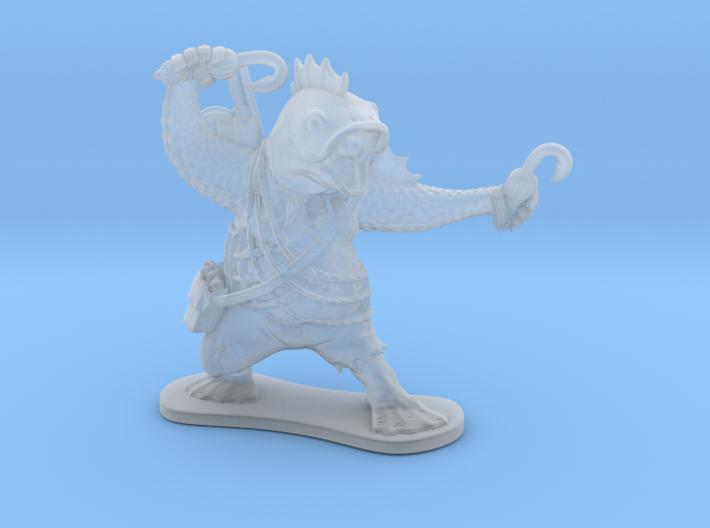 Fish Cleric 3d printed