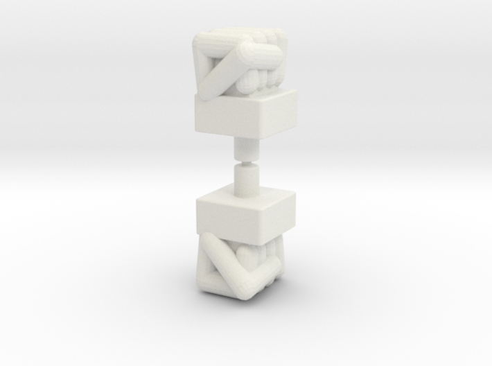 Biotron Bopper Fists 3d printed
