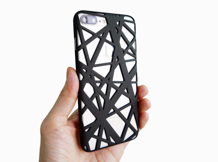 iPhone 7 & 8 Plus Case_Intersection 3d printed