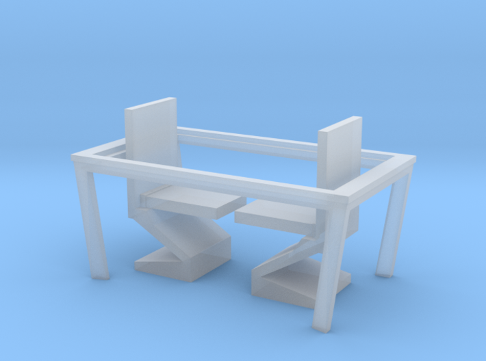 Nether Chair and Table Set 3d printed
