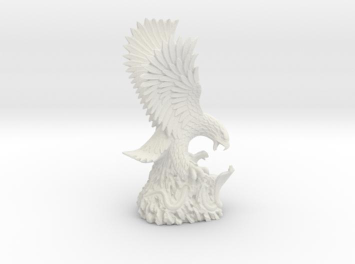 Eagle & Cobra Sculpture, Air Force Museum Vietnam 3d printed