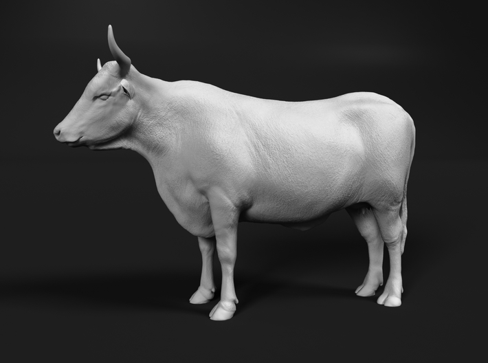ABBI 1:64 Standing Cow 3d printed