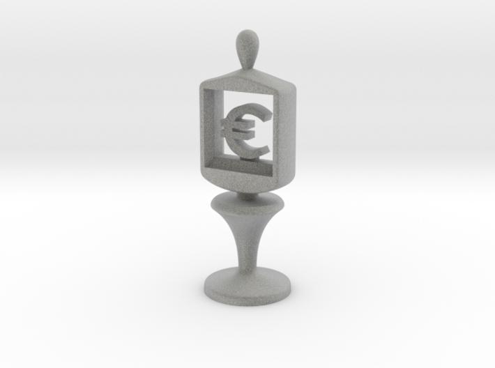 Currency symbol figurine,Euro 3d printed