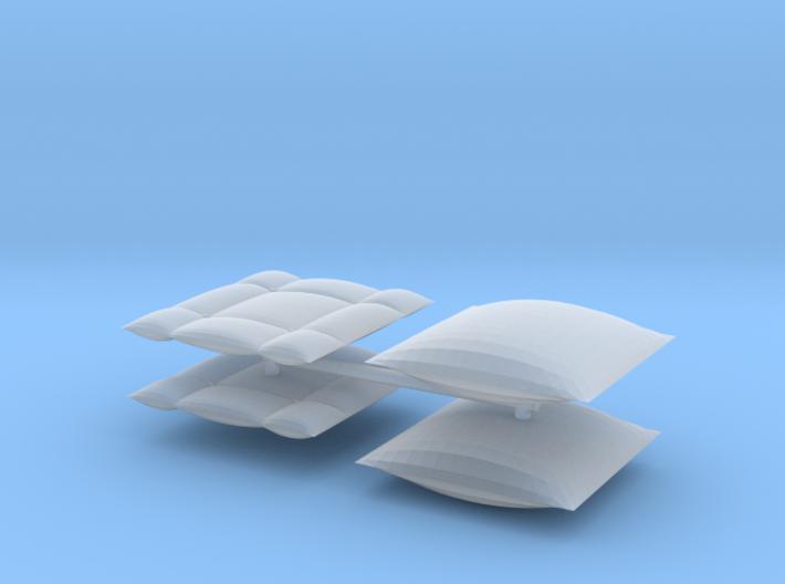 1/24 VIP pillows 2 3d printed