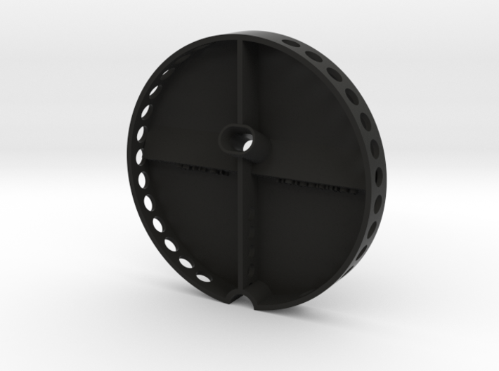iPhone car mount/holder for Kia Stonic, Carens 3d printed Phone car mount holder for Kia stonic cup holder in black_