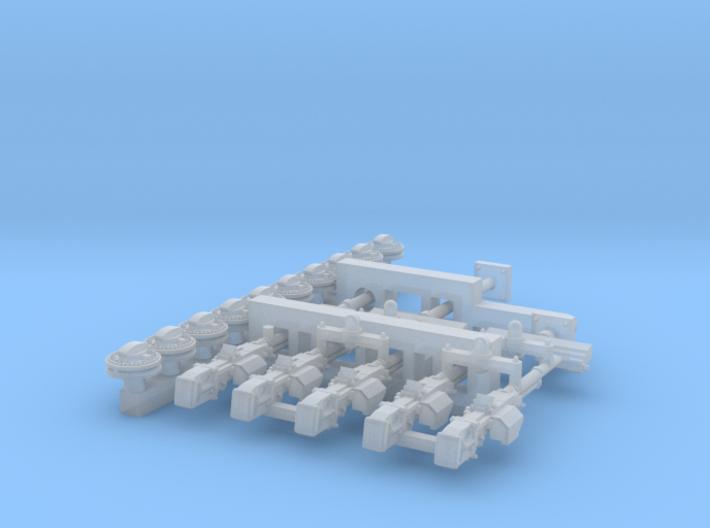 1/48 Vickers K GO Set001 3d printed