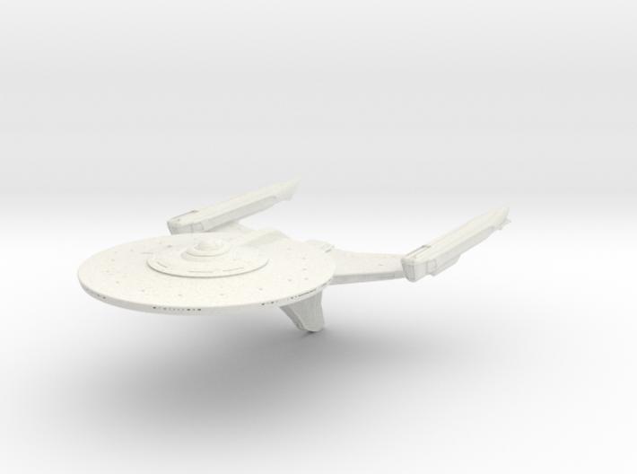 Federation Ackerman Class refit Cruiser 3d printed