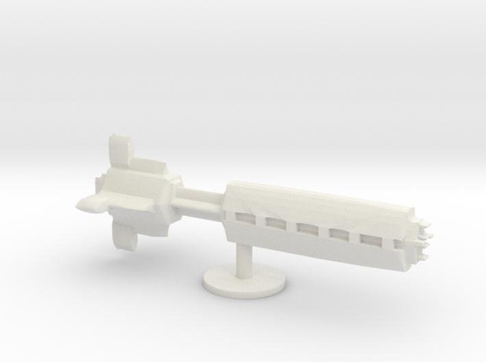 star ship battleship board game piece 3d printed
