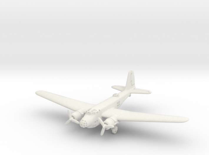 "North American XB-21 ""Dragon"" 1/285 6mm 3d printed"