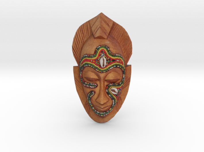 African Mask - Room Decoration 3d printed