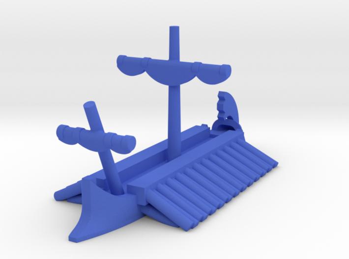 1/1200 Athenian Trireme Game Pieces 3d printed