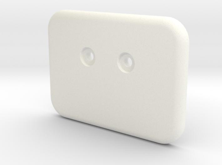 Bunk clip blank counterbore 3d printed