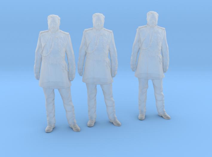 kalakaua standing 3 pack 3d printed