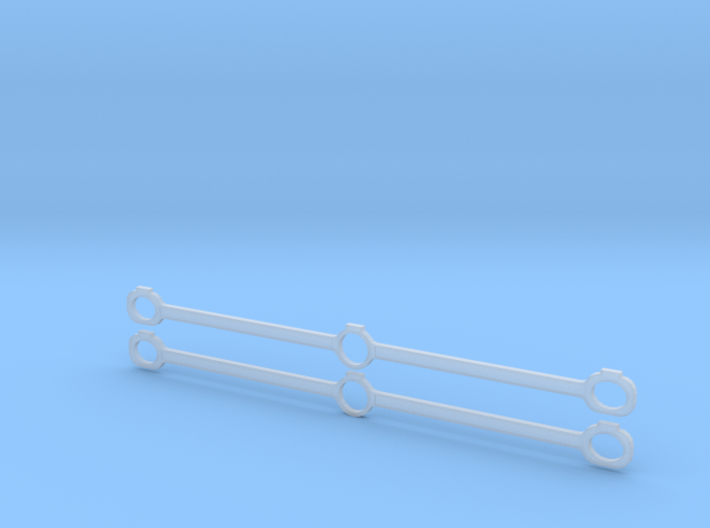 Gauge 1 NWR No 1 Side Rods 3d printed