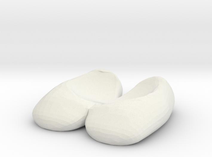 Eggcessories! Egg Feet 3d printed