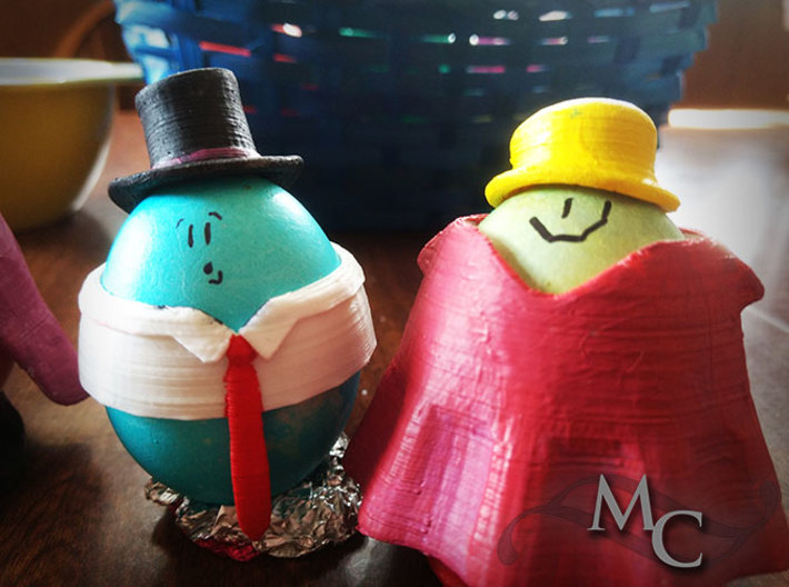 Eggcessories! Top Hat 3d printed