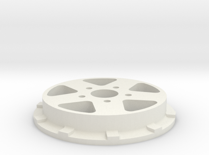 Boost beatlock wheels 1.0, part 1/4 front 3d printed