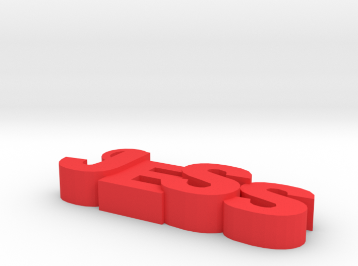 jess keychain 3d printed