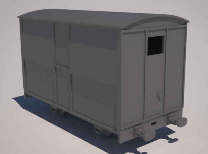 009 Talyllyn Rly Tea Van (closed) 3d printed