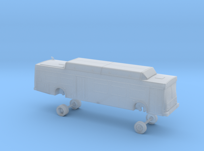 N Scale Bus New Flyer C40LF Sound Transit 9400s 3d printed