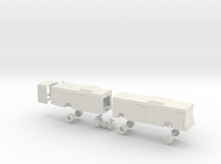 HO Scale Bus New Flyer D60LF MTS 1900s 3d printed