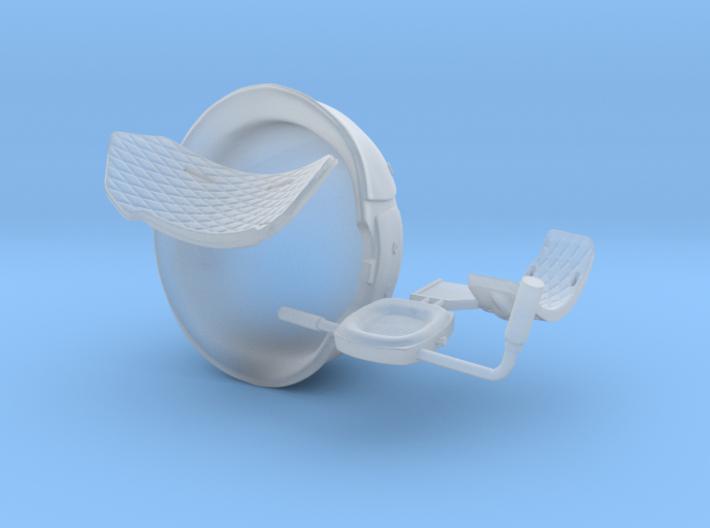 USCM helmet 1:12 scale 3d printed