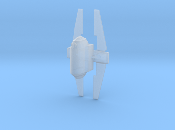 Nune-class imperial shuttle 38mm 3d printed