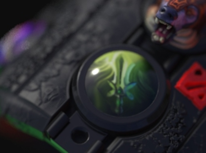 Dota2 Butterfly Orb 3d printed