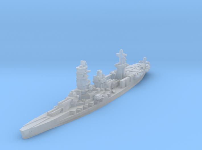 Ise Hybrid Battleship Carrier 1/4800 3d printed